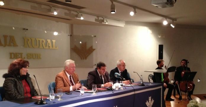 """La Fundación Caja Rural del Sur ha acogido la presentación del libro de Diego Lopa, """"Mi sueño en 39 colores"""""""