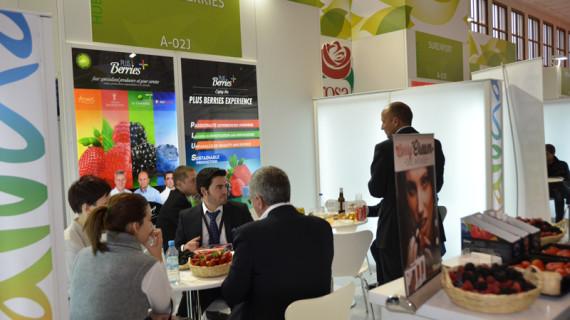 Los productores y exportadores onubenses clausuran hoy Fruit Logística en Berlín