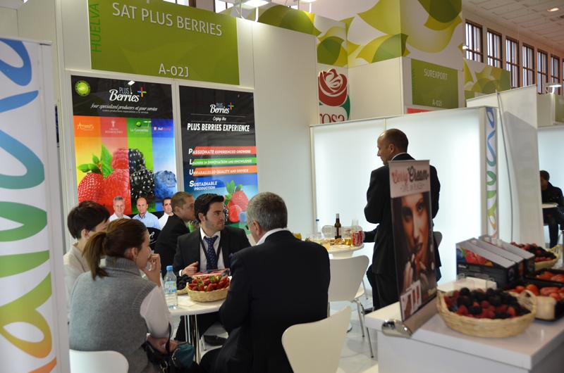 Las fresas y berries de Huelva han sido protagonistas durante esta semana en Fruit Logística Berlín
