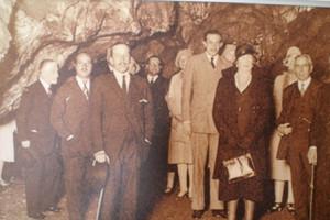 La gruta fue visitada por Alfonso XIII a inicios del siglo XX. / Foto: druta.wordpress.com.