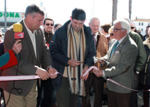 Momento de la inauguración oficial del comedor social Nuestra Señora de la Consolación
