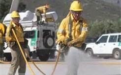Los onubenses colaboran con el 112 en la prevención y extinción de incendios forestales