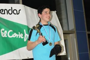 José Díaz Bourre, de Almonte, fue el mejor nadador en la edición del año pasado.