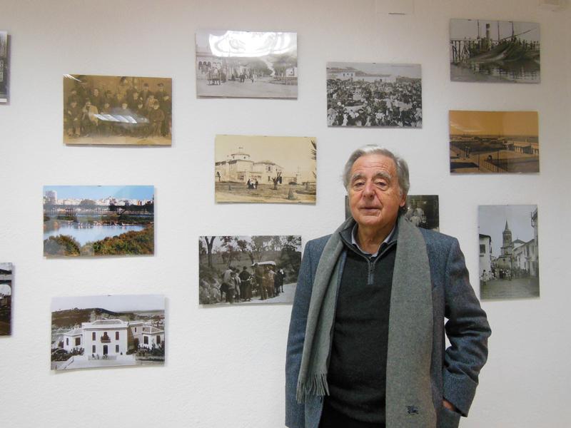 José Luis Ruiz, director del Festival Latitudes, en la sede de Huelva Buenas Noticias.