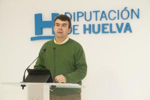 José Martín anticipa los asuntos que la Diputación abordará en el pleno de febrero.