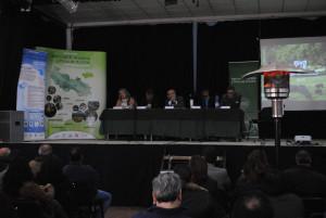 Reunión de la Junta Rectora del Parque Natural de la Sierra de Aracena y Picos de Aroche, celebrado este miércoles.