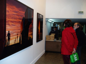 Las imágenes del ruso agradaron al público que acudió a la apertura de la muestra.