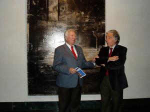 José Luis García Palacios y José Luis Ruiz inauguraron la muestra.