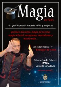 Los palermos pueden disfrutar de una sesión de magia.