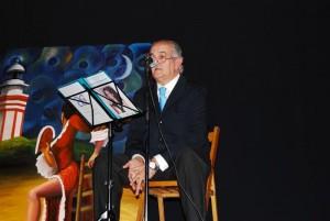 El pregonero Manuel Correa. / Foto: fundacionamparocorrea.blogspot.com.