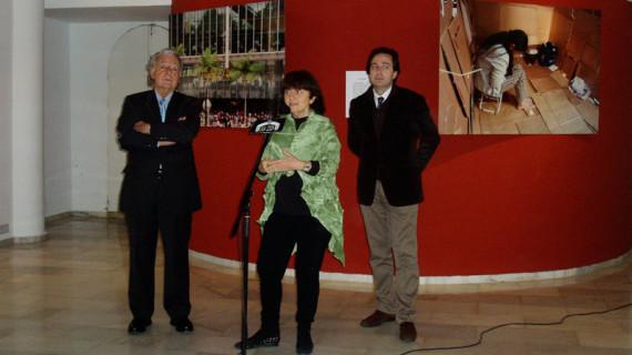 Marisa González presenta en Huelva su exposición 'Ellas, filipinas'