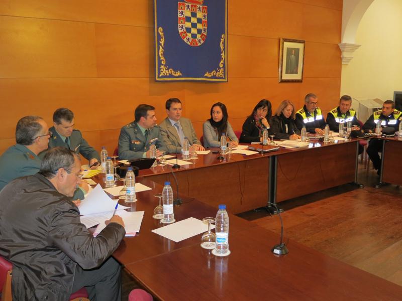 Reunión de la última Junta de Seguridad.