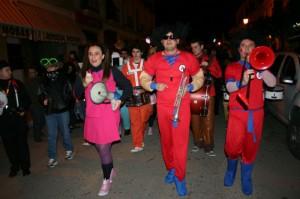 El Carnaval ha tenido un gran ambiente, tanto de día como de noche.