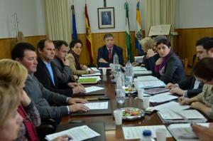 Pleno del Ayuntamiento de Palos de la Frontera.