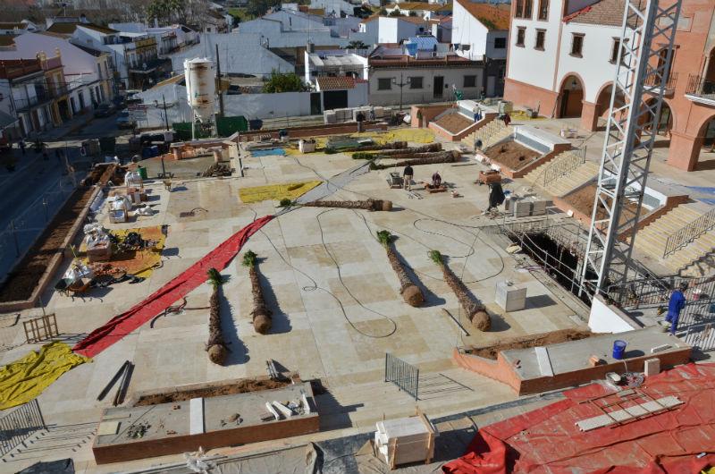 La plaza contará con un parking subterráneo, entre otras dotaciones.