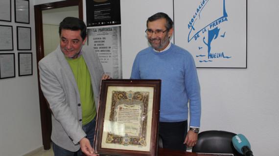 El periodista Eduardo J. Sugrañes, ganador del XVIII Premio Diego Díaz Hierro de Investigación