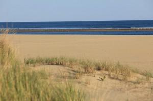 Las playas de Ayamonte, listas para la temporada.
