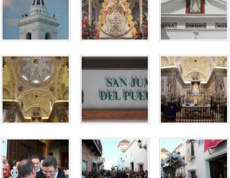 San Juan se presenta ante la Virgen del Rocío