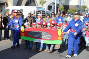 Cabalgata infantil del Carnaval de Punta Umbría.