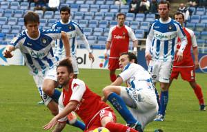 El Decano ya conoce los horarios de los partidos ante el Girona y en el campo del Villarreal. / Foto: Josele Ruiz.