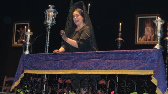 Moguer da la bienvenida a la Semana Santa con la III Exaltación a la Saeta 'La Madrugá'