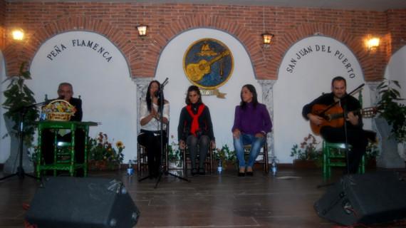 Arranca en la Peña de San Juan del Puerto el IV Certamen de Jóvenes Flamencos