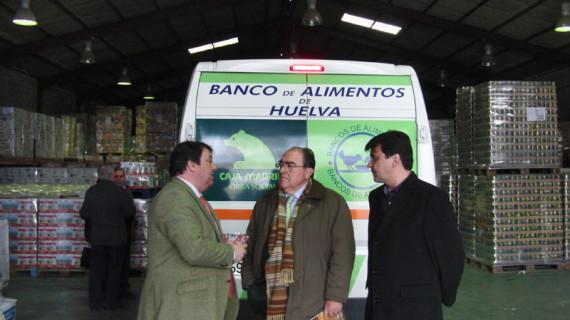 El Banco de Alimentos de Huelva recibe financiación para sus nuevos proyectos
