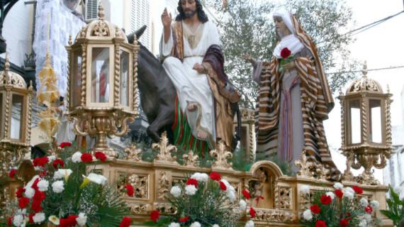 Todo listo en Cartaya para vivir el Domingo de Ramos