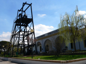 Entrada del Museo Minero de Riotinto.