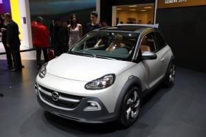 El Opel Adam Rocks en el Salón de Ginebra 2013