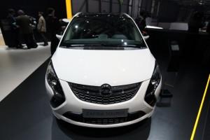 El Zafira Tourer 1.6 CDTI en el Stand de Opel