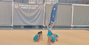 El equipo benajmín de Isla, que fue bronce en conjuntos.