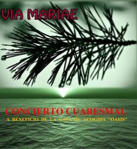 Cartel de la actividad mariana de la Hermandad del Rocío de Huelva.