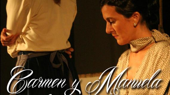 La compañía La Elefanta representa en el Gran Teatro la obra 'Carmen y Manuela, la copla jamás contada'