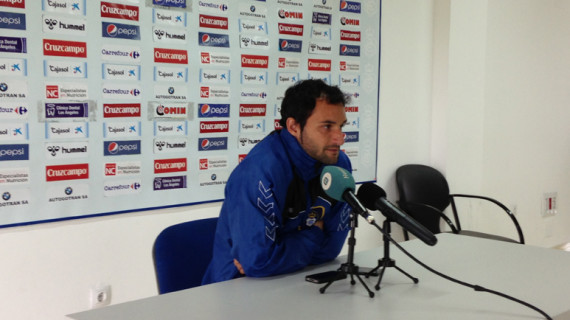 """Cifu: """"Quedan doce partidos por jugarse, que son muchos puntos, por lo que tenemos opciones de estar más arriba"""""""