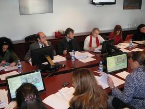Reunión de la Comisión de Ordenación del Territorio y Urbanismo.
