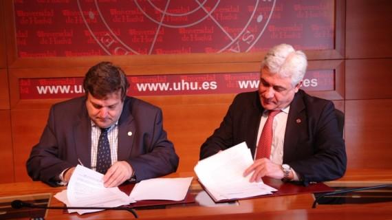 La Universidad de Huelva firma un convenio para fomentar la investigación en el ámbito industrial y de las nuevas tecnologías