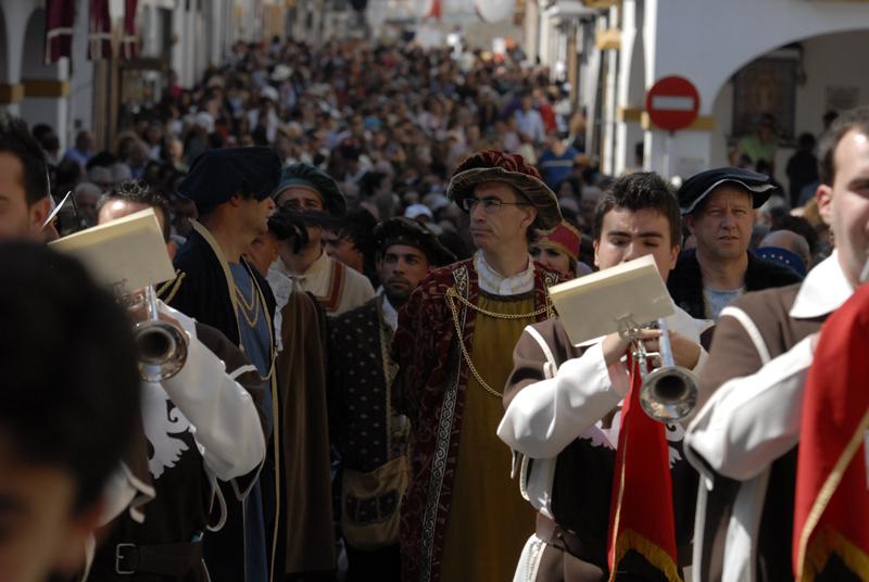 La Feria Medieval atrae a miles de personas cada año.