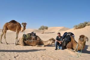 Rubén ahora mismo vive en Túnez, pero ha viajado por todo el mundo.