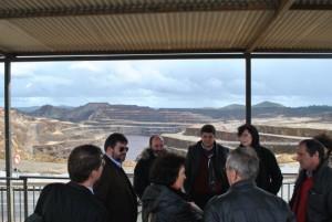 El mirador del cerro del Colorado ha sido lugar de visita por los dirigentes internacionales.