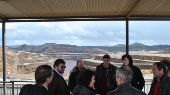La cuenca minera se convierte en objeto de visitas internacionales