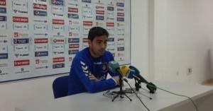 El centrocampista del Recre volverá al once tras no jugar por sanción ante el Elche. / Foto: P. G.