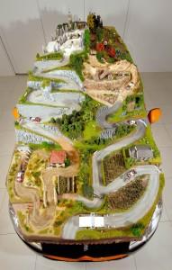 Plano del diorama sobre el DS3