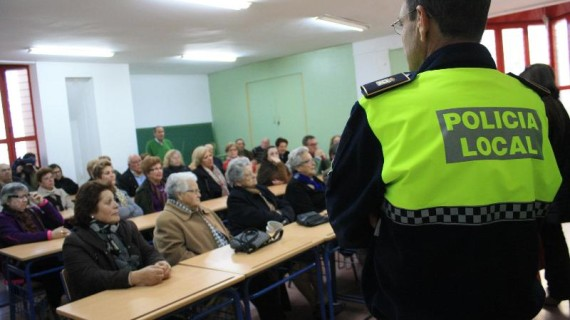 Campaña de educación vial para mayores en Ayamonte