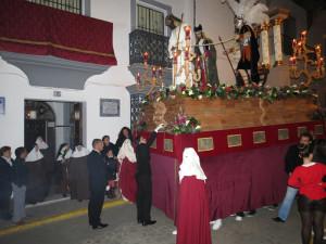 Paso del Cautivo por las Hermanas de la Cruz.