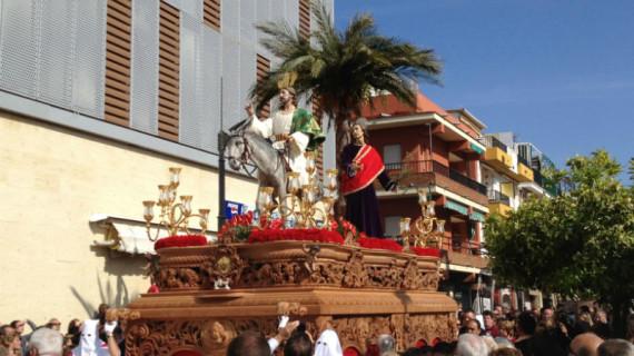 La Semana Santa de Punta Umbría se inicia con la procesión de la Borriquita este Domingo de Ramos