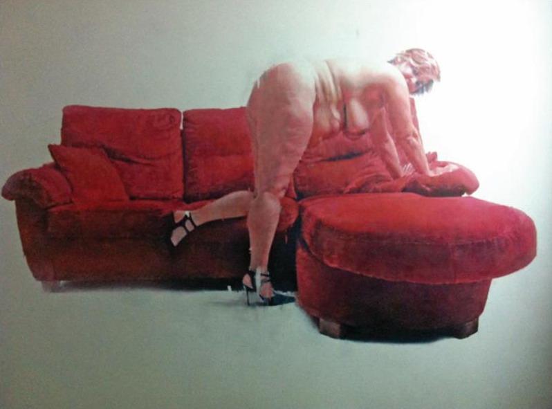 Uno de los cuadros del onubense Emilio Fornieles.