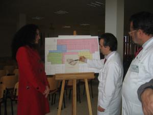 Un momento de la presentación del proyecto del Hospital Infanta Elena.