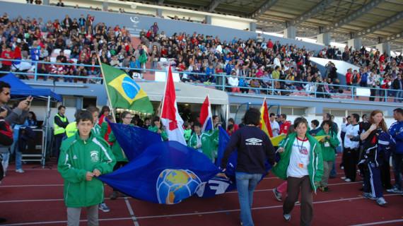 Todo listo en Vila Real de Santo Antonio y en Ayamonte para que empiece el Mundialito 2013 de fútbol infantil