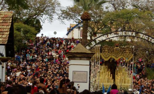 Huelva ha salido a la calle más que nunca en una engrandecida Semana Santa marcada por la incertidumbre